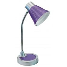 Fan lampada tavolo Leonardo viola