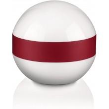 Philips Esk lampada da tavolo sferica con fascia rossa