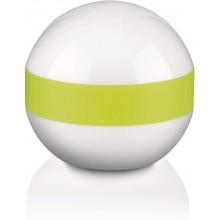 Philips Esk lampada da tavolo sferica con fascia verde
